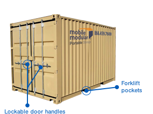 10' Shipping Containers for Rent or Sale | 10ft storage