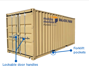 20 foot Storage Containers for Sale or Rent