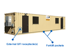 40 foot Office Containers for Rent or Sale