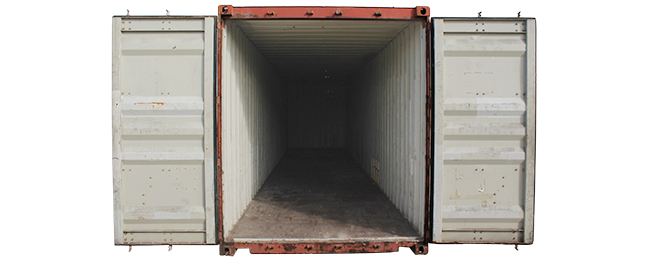 40' High-Cube Storage Container