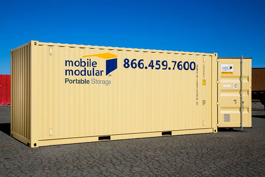 Portable Storage Containers 20ft-with-high-security-lock-box