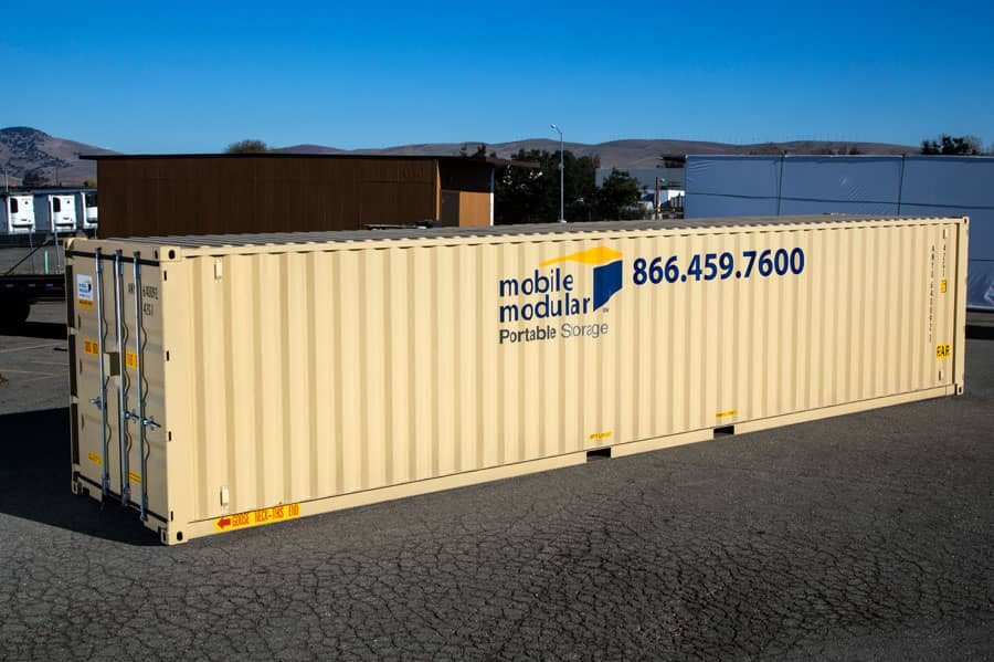 Portable Storage Containers 40ft-with-double-doors
