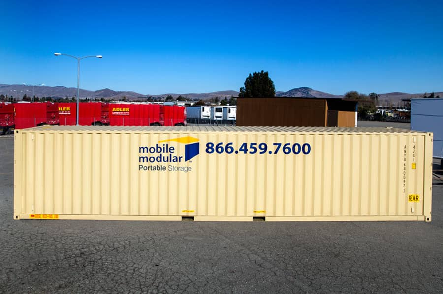 Portable Storage Containers 40ft-with-high-security-lock-box